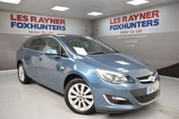 USED 2015 65 VAUXHALL ASTRA 2.0 ELITE CDTI S/S 5d 163 BHP Full Vauxhall Service history, 1 Owner, Cruise control, Full Leather