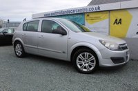 USED 2006 06 VAUXHALL ASTRA 1.6 ACTIVE 16V TWINPORT 5d 100 BHP PETROL SILVER GENUINE LOW MILEAGE + 2 OWNERS FROM NEW