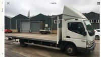 USED 2010 10 MITSUBISHI FUSO CANTER 3.0 35 XLWB 3C15-39 1d 144 BHP 19FT10 SCAFFOLD TRUCK