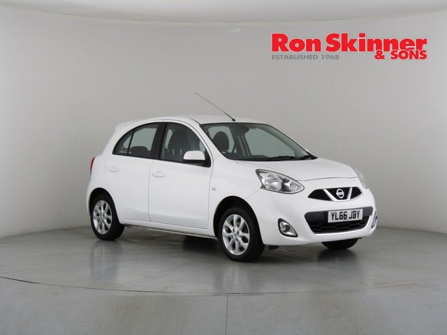 View our 2017 66 NISSAN MICRA 1.2 ACENTA 5d 79 BHP