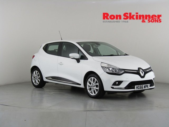 View our 2017 66 RENAULT CLIO 1.2 DYNAMIQUE NAV TCE 5d 117 BHP