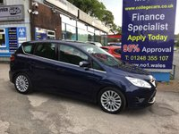 USED 2013 63 FORD C-MAX 2.0 TITANIUM TDCI 5d AUTO 138 BHP, only 53000 miles ***APPROVED DEALER FOR CAR FINANCE247 AND ZUTO  ***