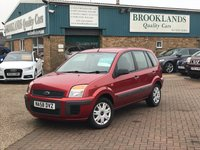 2008 FORD FUSION 1.4 STYLE CLIMATE 5 Door Tango Red Metallic 80 BHP £2695.00