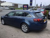 USED 2015 65 VAUXHALL INSIGNIA 1.6 TECH LINE CDTI 5d AUTO 134 BHP, only 11000 miles ***GREAT FINANCE DEALS AVAILABLE***