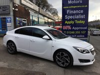 USED 2016 16 VAUXHALL INSIGNIA 1.6 SRI NAV VX-LINE CDTI S/S 5d 134 BHP, only 14000 miles ***GREAT FINANCE DEALS AVAILABLE***