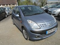 USED 2009 09 NISSAN PIXO 1.0 ACENTA 5DR ONE OWNER SUPER LOW MILEAGE