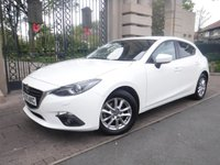 USED 2016 16 MAZDA 3 2.0 SE-L NAV 5d 118 BHP ****FINANCE ARRANGED****PART EXCHANGE WELCOME***1OWNER*CRUISE*NAV*£30TAX*2KEYS*BLUETOOTH*STOP/START