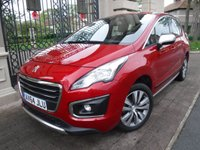 USED 2014 64 PEUGEOT 3008 1.6 E-HDI ACTIVE 5d AUTO 115 BHP *1OWNER*PEUGEOT SERVICE HISTORY*AUTOMATIC* DIESEL*CRUISE CONTROL*