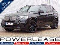 USED 2015 65 BMW X5 2.0 XDRIVE40E M SPORT 5d AUTO 242 BHP PRO SAT NAV LEATHER 360CAMERAS