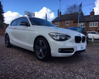 2015 BMW 1 SERIES 1.6 116I SPORT 3d 135 BHP £13495.00