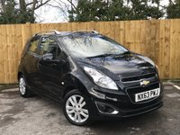 USED 2013 63 CHEVROLET SPARK 1.2 LTZ 5d 80 BHP Full Service History, AUX+USB Media Connectivity