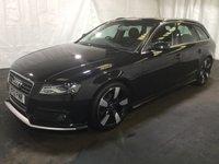 2012 AUDI A4 2.0 AVANT TDI QUATTRO DYNAMIK 5d 170 BHP £13500.00