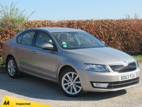 USED 2013 63 SKODA OCTAVIA 1.4 ELEGANCE TSI 5d * 128 POINT AA INSPECTED * FULL SERVICE HISTORY * SATELLITE NAVIGATION *