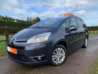 USED 2009 09 CITROEN C4 GRAND PICASSO 2.0 EXCLUSIVE HDI EGS 5d 134 BHP PARK ASSIST 7 SEATS CLIMATE CONTROL , CRUISE CONTROL FULL HISTORY