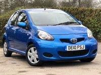 2010 TOYOTA AYGO 1.0 BLUE VVT-I 5d 67 BHP £3295.00