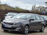 USED 2015 15 PEUGEOT 308 2.0 BLUE HDI S/S SW ALLURE 5d AUTO 150 BHP