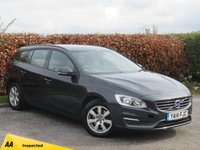 USED 2014 14 VOLVO V60 1.6 D2 BUSINESS EDITION 5d DUAL CLIMATE CONTROL, CRUISE CONTROL, 6 SPEED GEARBOX
