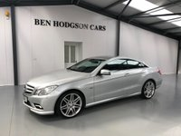 2011 MERCEDES-BENZ E-CLASS 3.0 E350 CDI BLUEEFFICIENCY SPORT 2d AUTO 265 BHP £12995.00