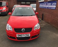 USED 2007 07 VOLKSWAGEN POLO 1.2 S 3d 54 BHP ONE OWNER FROM NEW, ONLY 10800 MILES