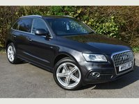 USED 2015 15 AUDI Q5 2.0 TDI QUATTRO S LINE PLUS START/STOP 5d 148 BHP SLINE PLUS STUNNING Q5 VALUE
