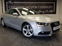 USED 2013 13 AUDI A5 2.0 TDI S LINE SPEC 2d AUTO + SAT NAV + FULL LEATHER
