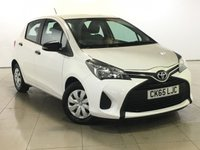 USED 2015 65 TOYOTA YARIS 1.0 VVT-I ACTIVE 5d 69 BHP 1 OWNER   BLUETOOTH  