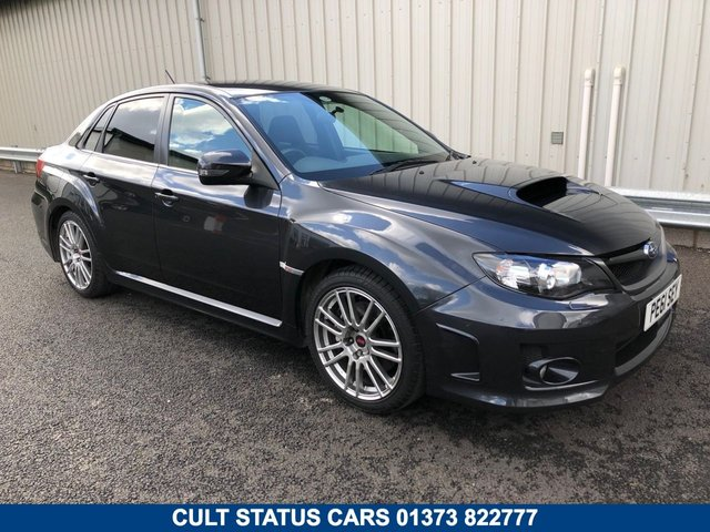 2011 61 SUBARU IMPREZA 2.5 WRX STI TYPE -UK AWD 316 BHP- ULTRA RARE SALOON WITH 320R UPGRADE!