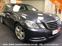 2013 MERCEDES-BENZ E 220 CDI AVANTGARDE 6 SPEED MANUAL 4 DOOR  £8995.00
