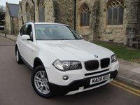 USED 2008 08 BMW X3 2.0 D SE 5d AUTO 175 BHP +++ FULL SERVICE HISTORY +++
