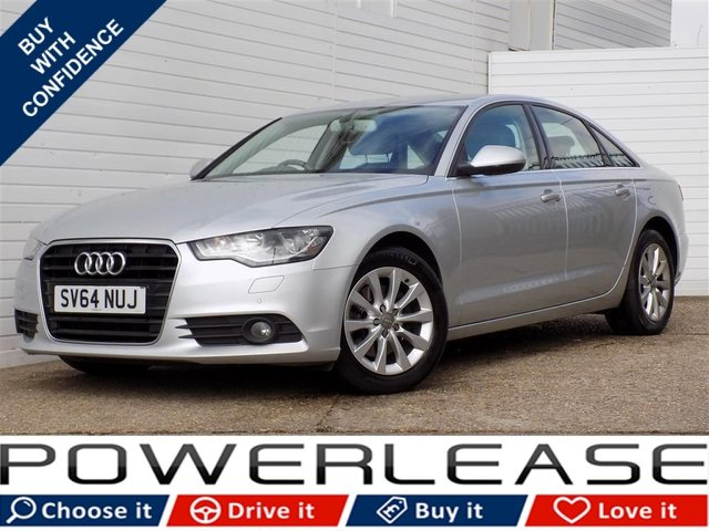 USED 2014 64 AUDI A6 2.0 TDI ULTRA SE 4d 188 BHP FULL AUDI HISTORY NAV LEATHER