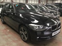 2015 BMW 1 SERIES 2.0 116D SPORT 5d 114 BHP + 1 FORMER KEEPER  £7975.00