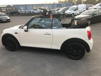 USED 2016 16 MINI CONVERTIBLE 1.5 COOPER 2d 134 BHP IN METALLIC CREAM WITH ONLY 7500 MILES WITH A FULL SERVICE HISTORY APPROVED CARS AND FINANCE ARE PLEASED TO OFFER THIS MINI COOPER CONVERTIBLE 2 DOOR IN METALLIC CREAM WITH ON 7,500 MILES WITH A FULL SERVICE HISTORY. THIS VEHICLE HAS A GREAT SPEC SUCH AS BLUETOOTH, CONVERTIBLE ROOF, DIGITAL DISPLAY, ELECTRIC WINDOWS ALL ROUND AND MUCH MORE. A VERY SENSIBLE PRICE FOR A EXTREMELY LOW MILEAGED MIN COOPER PERFECT FOR THE SUMMER WITH THE CONVERTIBLE ROOF