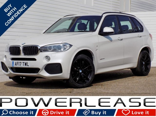 USED 2017 17 BMW X5 2.0 XDRIVE25D M SPORT 5d AUTO 231 BHP PRO NAV HEATED LEATHER FSH