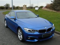 USED 2015 15 BMW 4 SERIES 2.0 420D M SPORT 2d AUTO 181 BHP PRO NAV, HEATED LEATHER SEATS