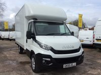2015 IVECO DAILY 2.3 35S13 126 BHP 14 FOOT BODY AIR CON TAILIFT 1 OWNER FSH NEW MOT £14900.00