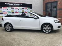 USED 2015 65 VOLKSWAGEN GOLF 1.6 TDI BlueMotion Tech SE BlueMotion Cabriolet 2dr WWW.MCDOUGALBREEN.CO.UK 80CARS