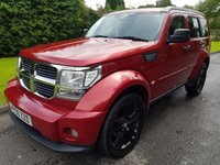 USED 2009 09 DODGE NITRO 2.8 SXT TD 5DR AUTOMATIC Value 4x4, Great Specification.