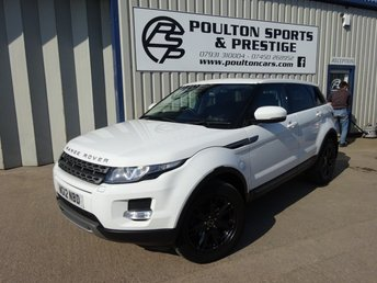 2012 LAND ROVER RANGE ROVER EVOQUE low miles pano roof heated seats full lethaer  £16180.00