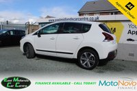 USED 2015 15 PEUGEOT 3008 1.6 BLUE HDI S/S ALLURE 5d 120 BHP DIESEL WHITE FULL SERVICE HISTORY