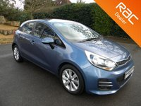 USED 2015 15 KIA RIO 1.2 2 5d 83 BHP Great Size 5 Door Hatchback! Cheap To Tax! Cheap Insurance! Bluetooth, Alloy Wheels