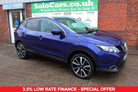 USED 2015 64 NISSAN QASHQAI 1.5 DCI TEKNA 5d 108 BHP +NAV +CAMERAS +LEATHER +MORE.