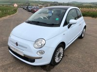 2009 FIAT 500 LOUNGE DUALOGIC £4995.00