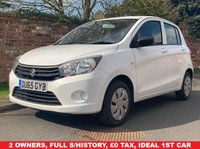 USED 2015 65 SUZUKI CELERIO 1.0 SZ2 5d 67 BHP FULL SERVICE HISTORY, 1YR MOT, £0 ROAD TAX, IDEAL 1ST CAR, EXCELLENT CONDITION, AIR CON, RADIO CD, E/WINDOWS, R/LOCKING, FREE WARRANTY, FINANCE AVAILABLE, HPI CLEAR, PART EXCHANGE WELCOME,
