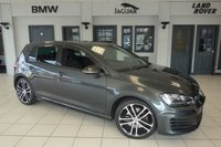 USED 2014 14 VOLKSWAGEN GOLF 2.0 GTD DSG 5d 182 BHP FINISHED IN STUNNING GREY WITH CROSS HATCH SPORT SEATS + BLUETOOTH + DAB RADIO + HEATED SEATS + DUAL CLIMATE CONTROL + XENON HEADLIGHTS + LED DAYTIME RUNNING LIGHTS...
