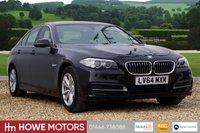 USED 2014 64 BMW 5 SERIES 2.0 520D SE 4d AUTO 188 BHP £20 TAX PROFESSIONAL NAVIGATION HEATED SEATS DAB FULL LEATHER