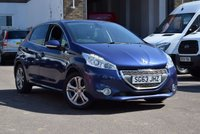 USED 2013 63 PEUGEOT 208 1.2 ALLURE 5d 82 BHP We are delighted to offer for sale this 2013 Peugeot 208 1.2 Allure 5dr in blue metallic, priced st just £5799.