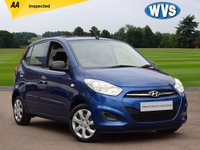 USED 2011 61 HYUNDAI I10 1.2 CLASSIC 5d 85 BHP Great value at just £3899 for a small 5dr car with air con.