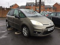 USED 2012 62 CITROEN C4 PICASSO 1.6 PLATINUM EGS E-HDI 5d AUTO 110 BHP ALL OF OUR VEHICLES MEET LARGE CITY EMISSION STANDARDS!