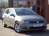 USED 2017 66 VOLKSWAGEN GOLF 1.4 TSi Match Edition 5dr ** Sat Nav + Adaptive Cruise **