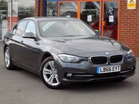 USED 2016 66 BMW 3 SERIES 320d Efficient Dynamics Sport 4dr Step Auto ** Sat Nav + Leather **